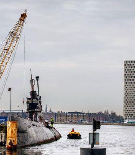 Onderzeeboot van de NDSM-werf gaat gesloopt worden
