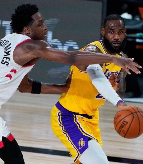 NBA-kampioen Raptors geeft waarschuwing aan Lakers