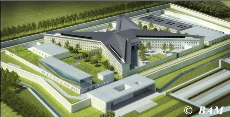 Het ontwerp voor de nieuwe gevangenis bestaat al jaren.