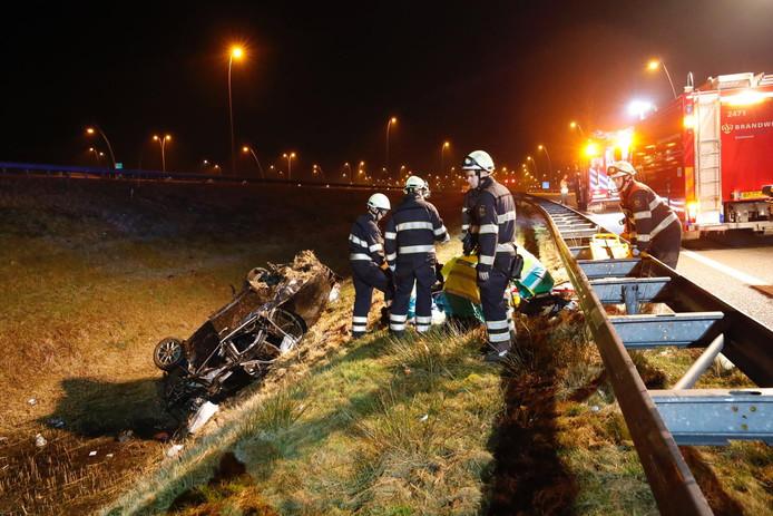 Ongeval op N2 bij Eindhoven