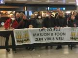 Toon en Marjon uit Corona-quarantaine en terug in Nederland: 'We waren flink hoesterig'