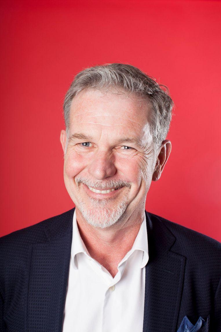 Reed Hastings:  'Of we succesvol zullen blijven met Netflix, kan ik niet garanderen. Soms verandert de wereld zo radicaal dat je er weinig aan kunt doen.' Beeld Alicia Canter / eyevine / HH