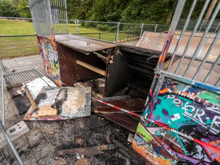 Skatebaan Sondervick verwoest door brand