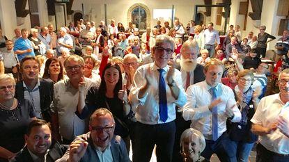 Burgemeester Geert Vanden Broucke (CD&V) versterkt positie met 3.057 voorkeurstemmen