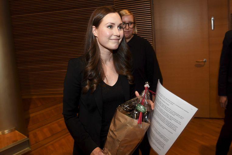 Sanna Marin is de nieuwe premier van Finland.