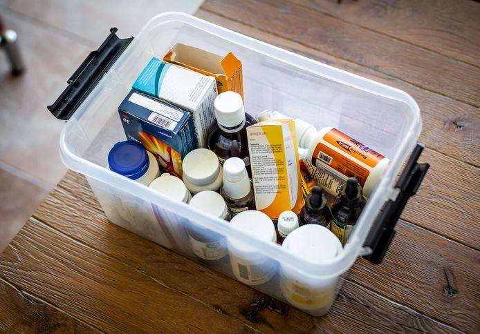 Veel mensen gebruiken medicijnen waarvoor een verklaring nodig is om ze mee over de grens te nemen