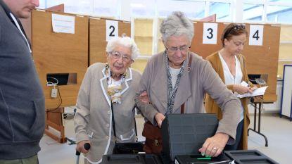 104-jarige Henriëtte brengt stem uit