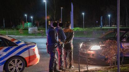 14 mensen zonder papieren opgepakt bij controleactie aan E313