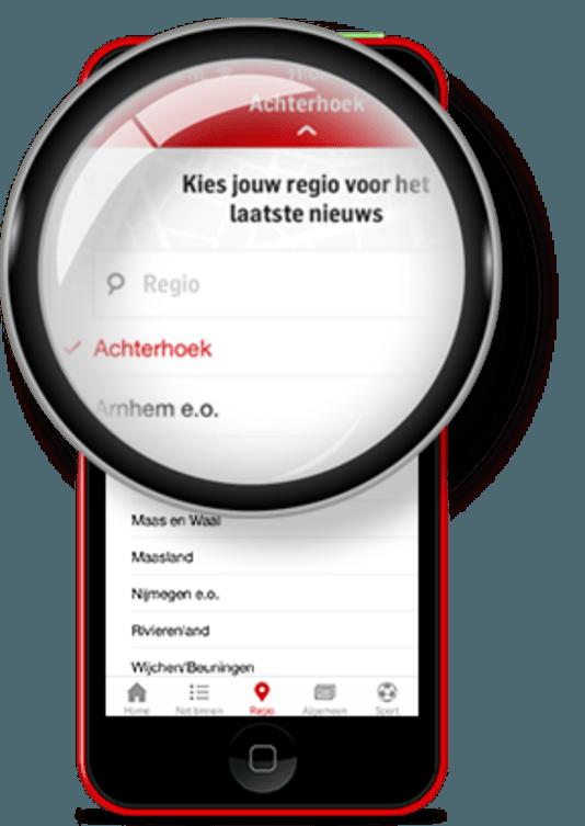 Lancering app De Gelderlander