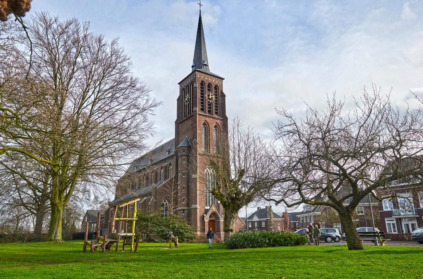 De kerk van Eerde.