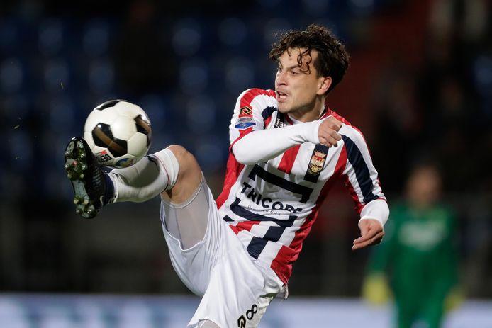 Thom Haye als speler van Willem II.