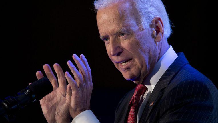 De Amerikaanse vicepresident Joe Biden. Beeld ap