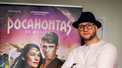 """Brahim maakt musicaldebuut in 'Pocahontas': """"In het Nederlands én met pruik"""""""