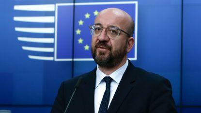 Charles Michel pleit voor Europese civiele bescherming