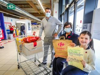 Isabella (7) wil cupcakes maken voor kinderen van vluchtelingen