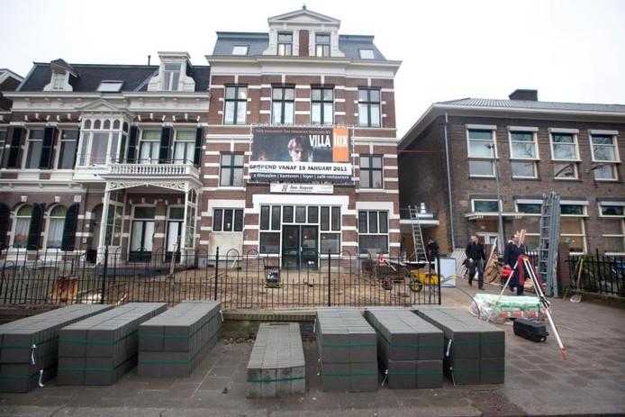 De Villa aan de Oranjesingel 42 in Nijmegen. Archieffoto