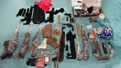 Zware vuurwapens van Brabantse 'godfather' gevonden in Nederland, ook in Lommel huiszoekingen uitgevoerd