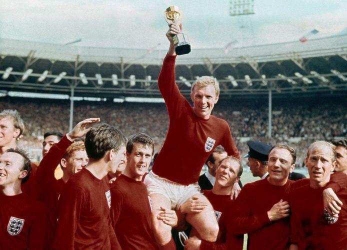 Engeland, in de persoon van Bobby Moore, mocht in 1966 de wereldbeker omhoog houden.