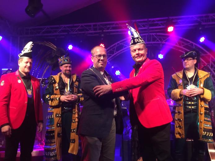 Gemeentelijke onderscheiding voor carnavalsvereniging De Narre-Kappen
