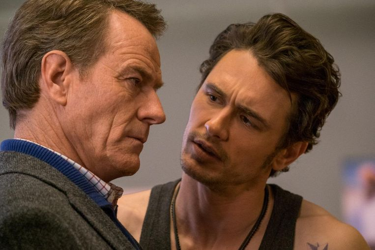 Bryan Cranston en James Franco in Why Him? Beeld