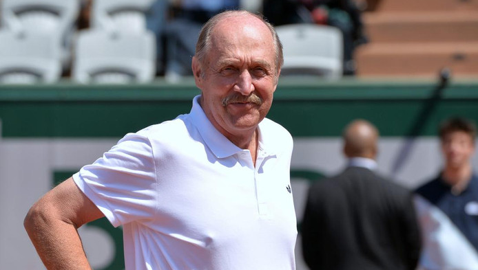 Stan Smith en 2014 à Roland Garros.