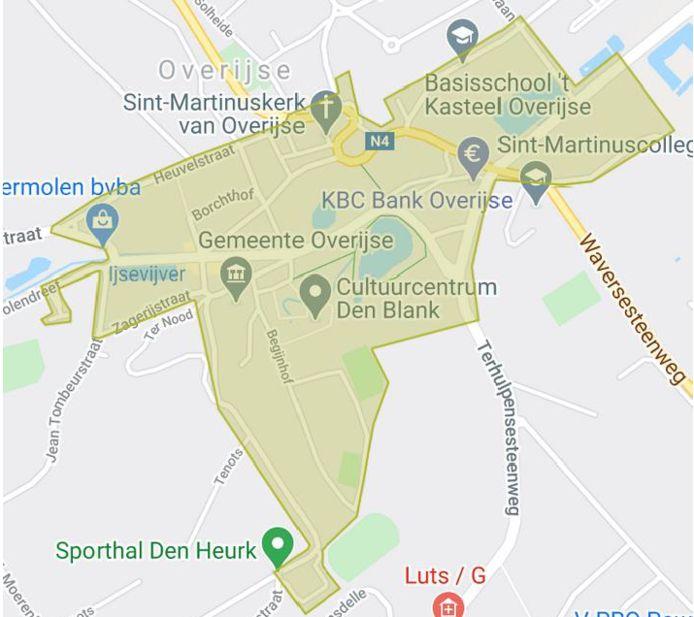 In de zone van het centrum tot sporthal Den Heurk is een mondmasker vanaf maandag op weekdagen verplicht.