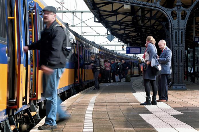 Begin 2018 reed de trein nog van Amsterdam naar Brusselen stopte in Roosendaal.
