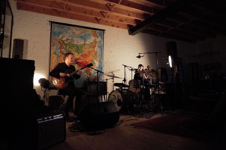 The Antler King bracht heerlijke indie-op-rock in een zeemzoete setting.