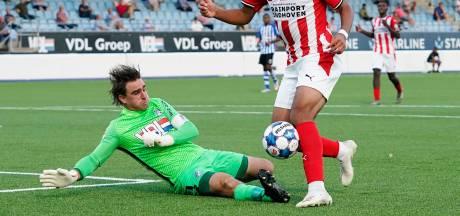Razendsnelle rentree voor doelman Swinkels bij FC Eindhoven: 'Een voorbeeld voor profs'