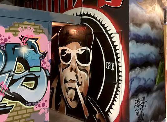 De vierde Graffiti Jam gaat in The Loods aan de  Oostelijkehavendijk in Roosendaal weer groter worden. Foto Alfred de Bruin
