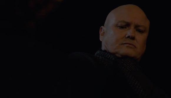 Varys ontdekt wie hem heeft verraden.