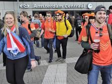 Zo kom je van A naar B op Koningsdag in Amsterdam