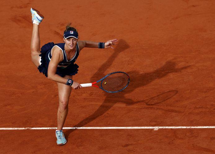 Issue des qualifications, Nadia Podoroska a remporté huit matchs sur la terre battue de Roland-Garros, avant de quitter le tournoi.