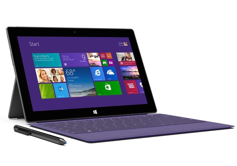 null Beeld Microsoft Surface 2