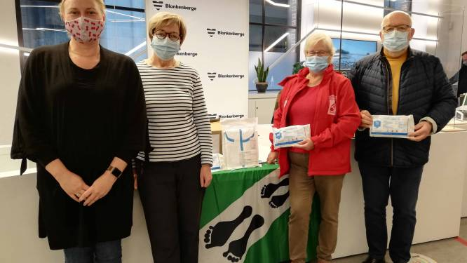 Goeie band met China levert Blankenbergse scholieren 10.000 mondmaskers op