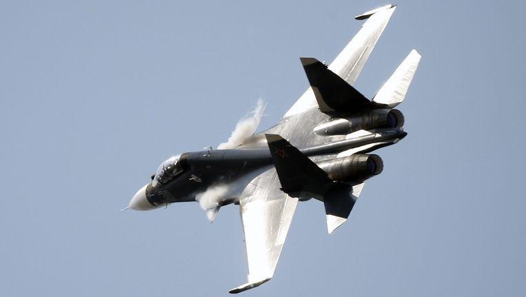 Een Sukhoi Su-30. Beeld epa