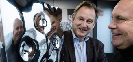 'Kussen' van Omega Thermo uit Enschede koelt champagne net zo makkelijk als coronavaccins
