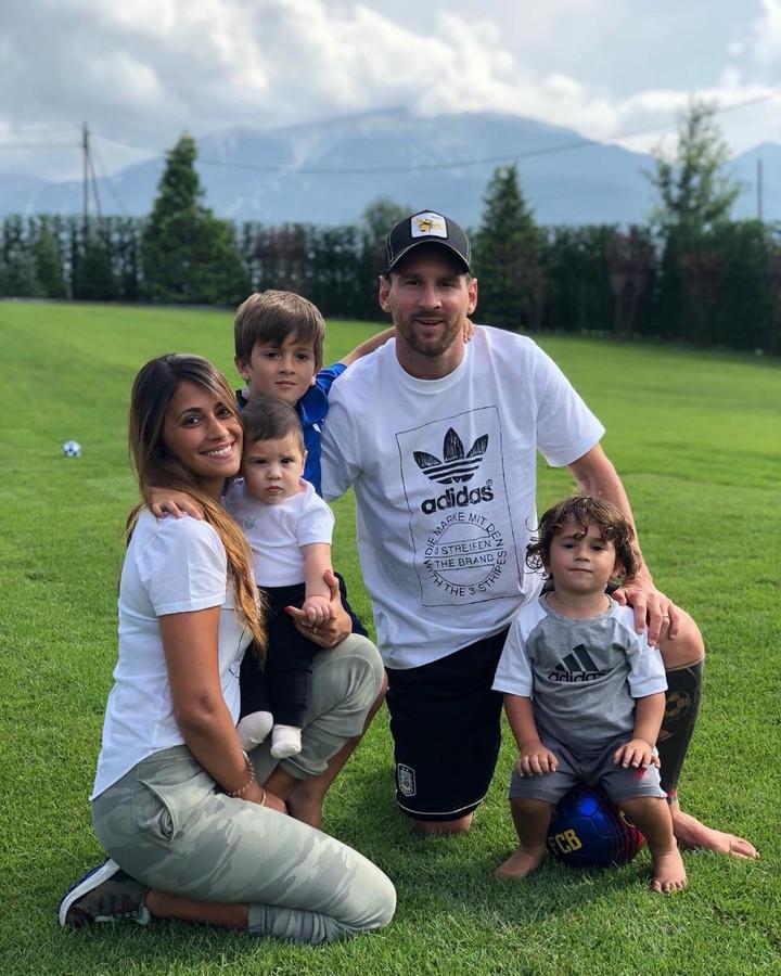 De familie Messi.