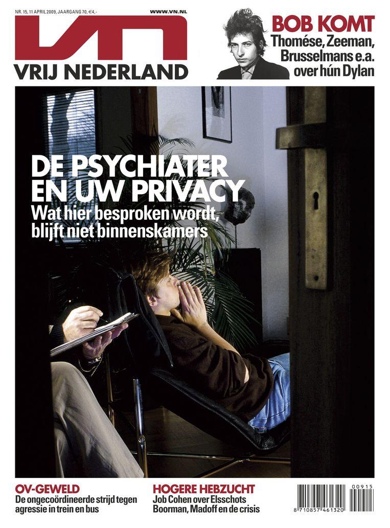 Vrij Nederland in 2009 Beeld Archief