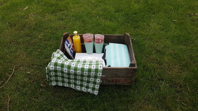 Picknicken in de Pluktuin Beeld geen credit