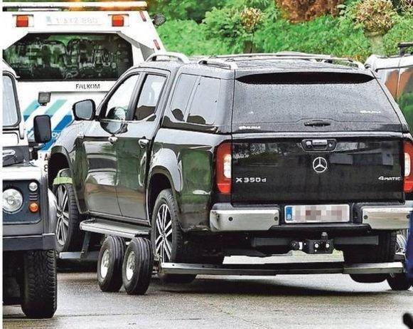 De lichamen van de kinderen werden in deze auto in Knokke gevonden.