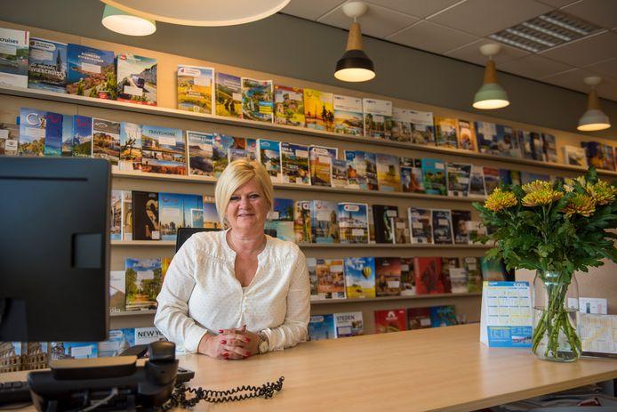 Melanie Martens, eigenaar van Reisbureau Travel XL in Geldrop.