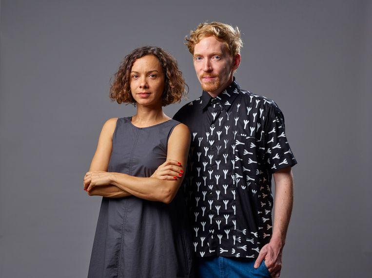 Kunstenaars Bárbara Wagner en Benjamin De Burca vertegenwoordigen Brazilië op de 58ste Biënnale van Venetië. Beeld Chico Barros