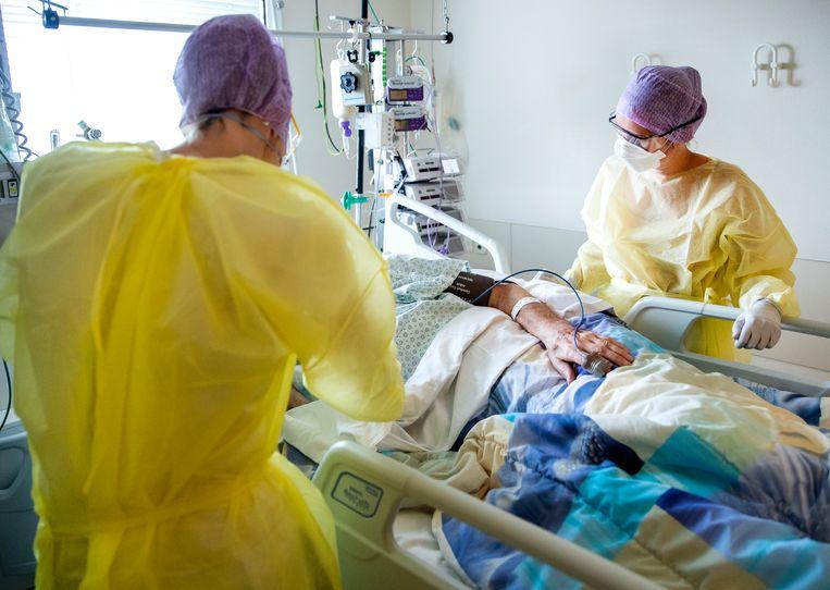 Intensive care in het HMC Westeinde in Den Haag. Beeld ANP