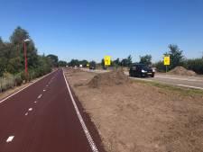 Snelfietspad F50 rukt van Nistelrode op richting Uden