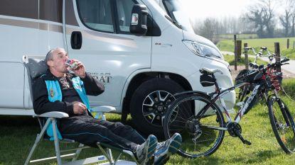 Eerste Ronde-kampeerder al sinds maandag op Paterberg: 'Ik was met geen stokken meer thuis te houden'