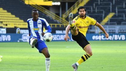 LIVE. GOAL! Dortmund klimt op voorsprong via Emre Can