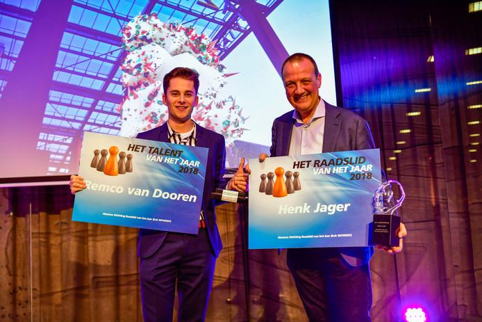 Remco van Dooren (l) en Henk Jager