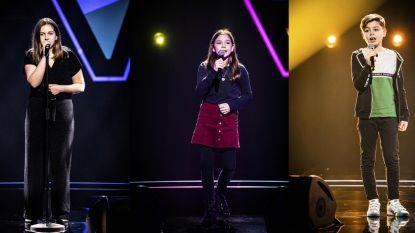 Drie Limburgse zangtalenten dromen, dansen en beroeren in The Voice Kids