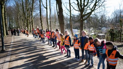 Drieduizend kinderen dolenthousiast over klimaatactie op Vesten